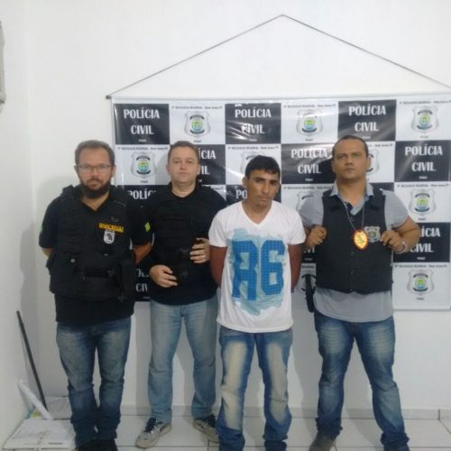 Acusado de tráfico de drogas é preso no interior do Piauí