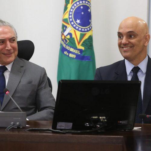 Indicado ao STF, Alexandre de Moraes é afastado do Ministério da Justiça por 30 dias