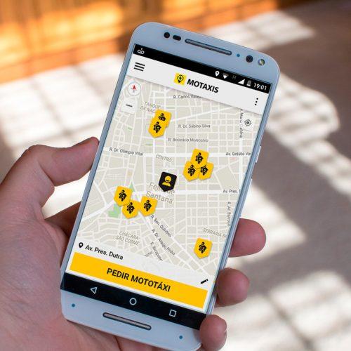 Mototaxistas de Picos poderão ser acionados através de aplicativo para celular