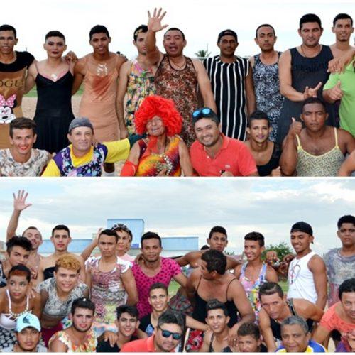 """Tradicional Jogo das Virgens atraí multidão para o Estádio de Futebol """"O Xerenhão"""" em Alegrete neste carnaval; veja fotos"""