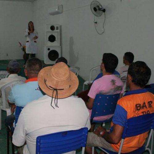 Secretaria Municipal de Saúde realiza palestra sobre câncer de próstata em Alegrete