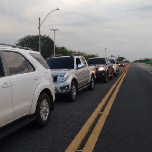 Carnaval: PRF registra mil carros por hora chegando ao Litoral do Piauí