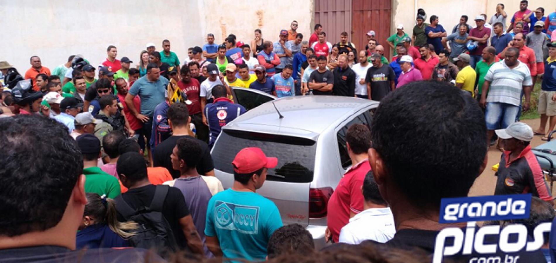Homem é ferido a tiros em tentativa de homicídio em Picos