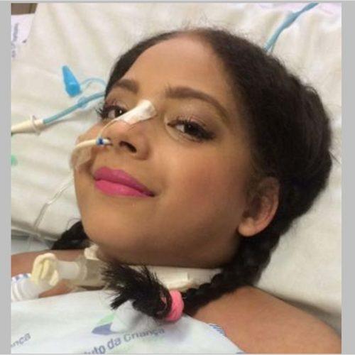 Ainda sem diagnóstico, Iasmim deixa UTI e segue internada em São Paulo