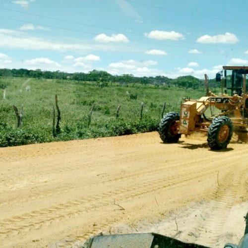 Prefeitura de Jaicós investe na recuperação e melhoria das estradas vicinais