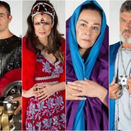 Paixão de Cristo de Floriano divulga os atores nacionais para espetáculo