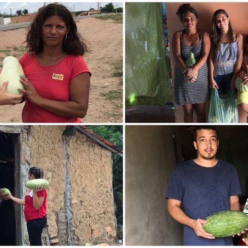 Assistência Social distribui nova remessa de alimentos para famílias carentes em Jaicós