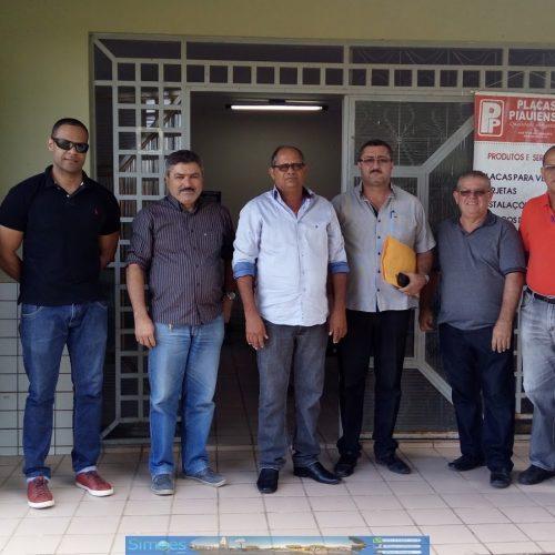 SIMÕES | Prefeito e comitiva vistoriam prédio onde será instalada a Companhia de Polícia