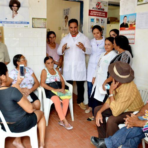 Saúde de Vila Nova realiza ações de Hiperdia nos postos da zona rural; veja fotos!