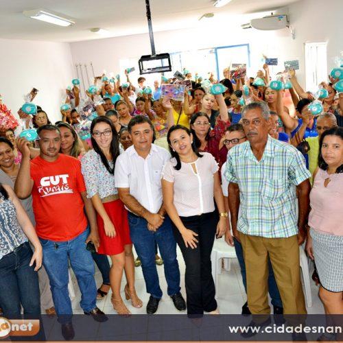 Prefeitura de Vera Mendes homenageia mulheres pelo seu dia; veja as imagens!