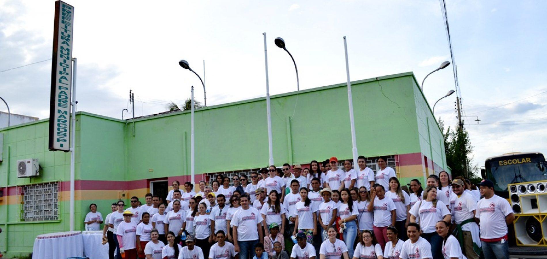 Prefeitura realiza arrastão de combate ao mosquito Aedes Aegypti em Padre Marcos