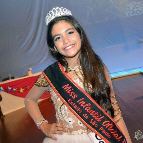 Filha de pais de  São Julião é eleita Miss São Paulo 2017