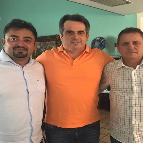 Prefeito Márcio Alencar participa de reunião com o senador Ciro Nogueira  e busca recursos para ampliação da barragem de Alegrete Velho