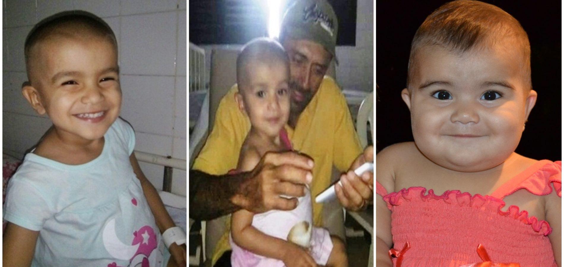Maria Vitória, criança que comoveu internautas perde a luta contra o câncer