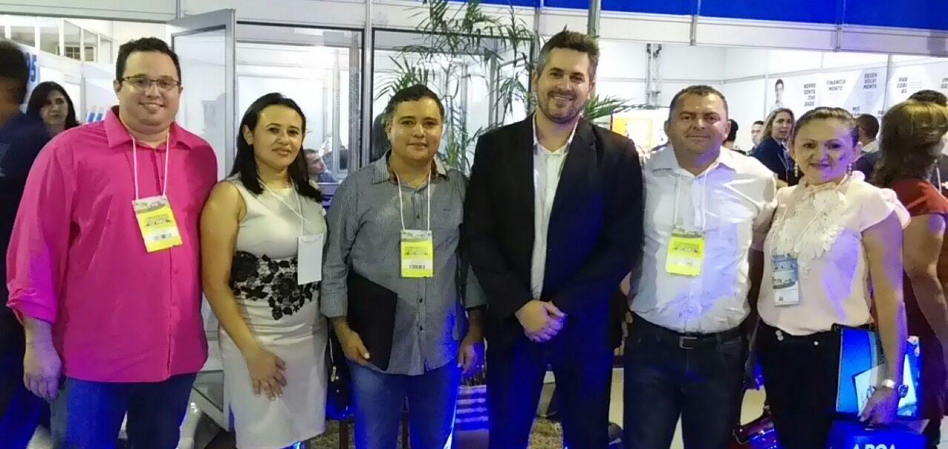 Prefeito de Vera Mendes participa do Congresso das Cidades em busca de novos conhecimentos