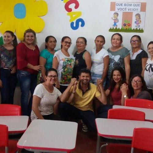 Professores alfabetizadores participam de mais uma formação do PNAIC em Alegrete