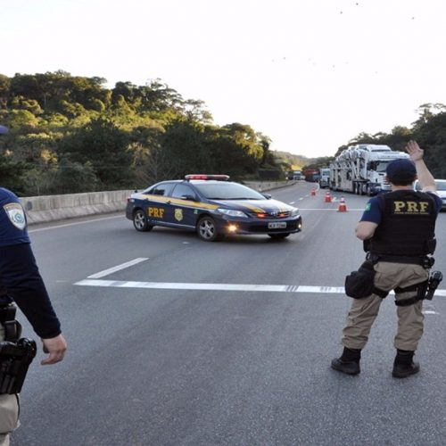 PRF  registrou 4 acidentes durante a Operação Tiradentes no Piauí