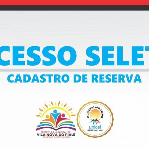 Prefeitura de Vila Nova divulga lista de candidatos deferidos no Teste Seletivo; veja!