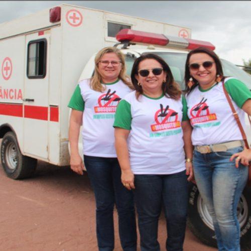 MONSENHOR HIPÓLITO| Vice-prefeita e secretária de saúde entregam ambulância para comunidade da Br-020