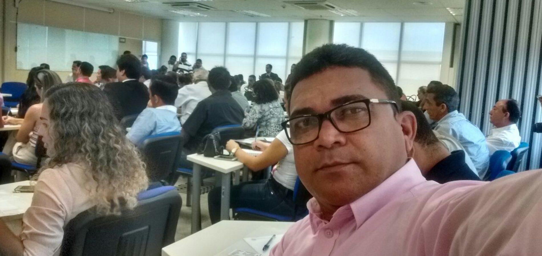 Gerente da Previdência Própria de Alegrete participa de reunião do TCE-PI em Teresina