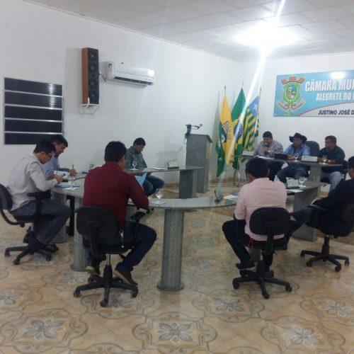 Câmara de Alegrete do Piauí realiza 3ª sessão ordinária de 2017