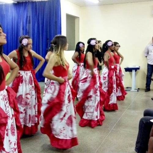 Grupo Cultural AJA de Vila Nova se apresentam na IX ENADIFPI na cidade de Picos