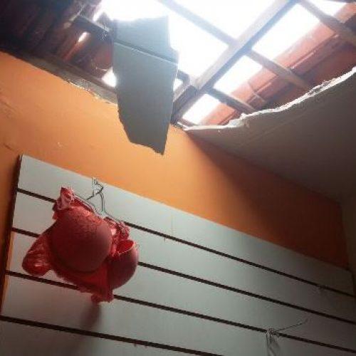 Ladrões arrombam e destroem prateleiras de loja durante furto no PI