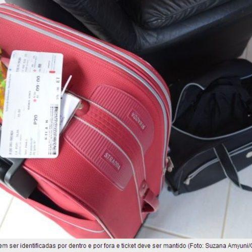 Empresa aérea anuncia que vai cobrar R$ 50 para despachar a bagagem de 23 kg