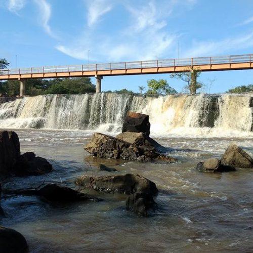 Com as chuvas, Cachoeira do Urubu se torna um paraíso no Piauí; veja fotos