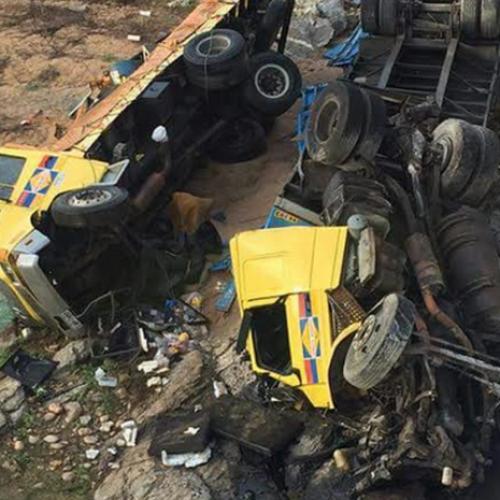 Funcionário de empresa de Picos morre em acidente no Ceará; 6 ficaram feridos