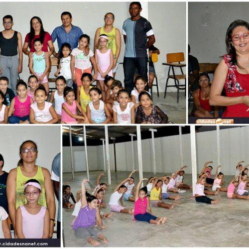 Secretaria de Cultura realiza aula inaugural de ballet em Campo Grande; fotos