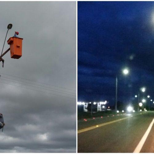 Prefeitura de Jaicós ilumina trecho urbano da BR 407