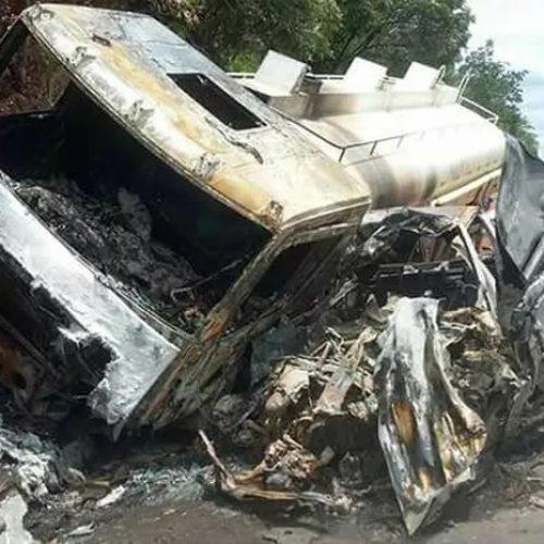 Corpos carbonizados em acidente no Piauí não tem previsão para serem identificados