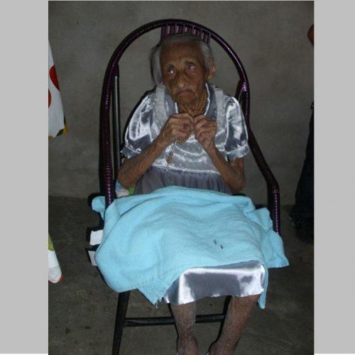 Aos 103 anos, morre em Alegrete do Piauí uma das mulheres mais velhas do município