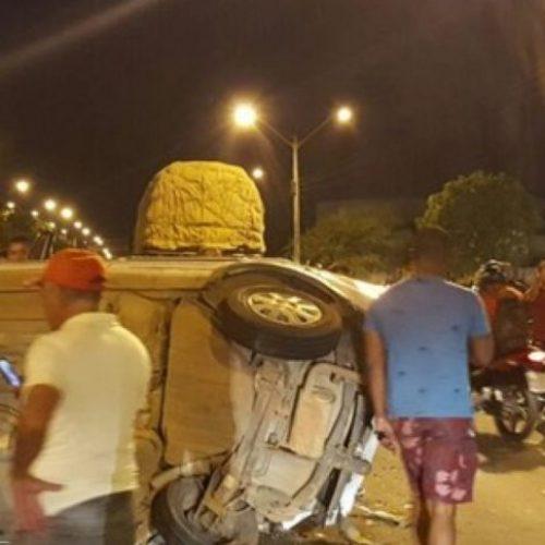 Suplente de vereador de Marcolândia sofre grave acidente próximo a Teresina
