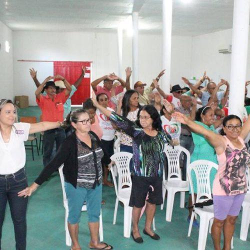 ALEGRETE   CRAS inicia atividades junto ao 'Grupo de Idosos' e anuncia novas ações de parceria com a Secretaria Municipal de Cultura