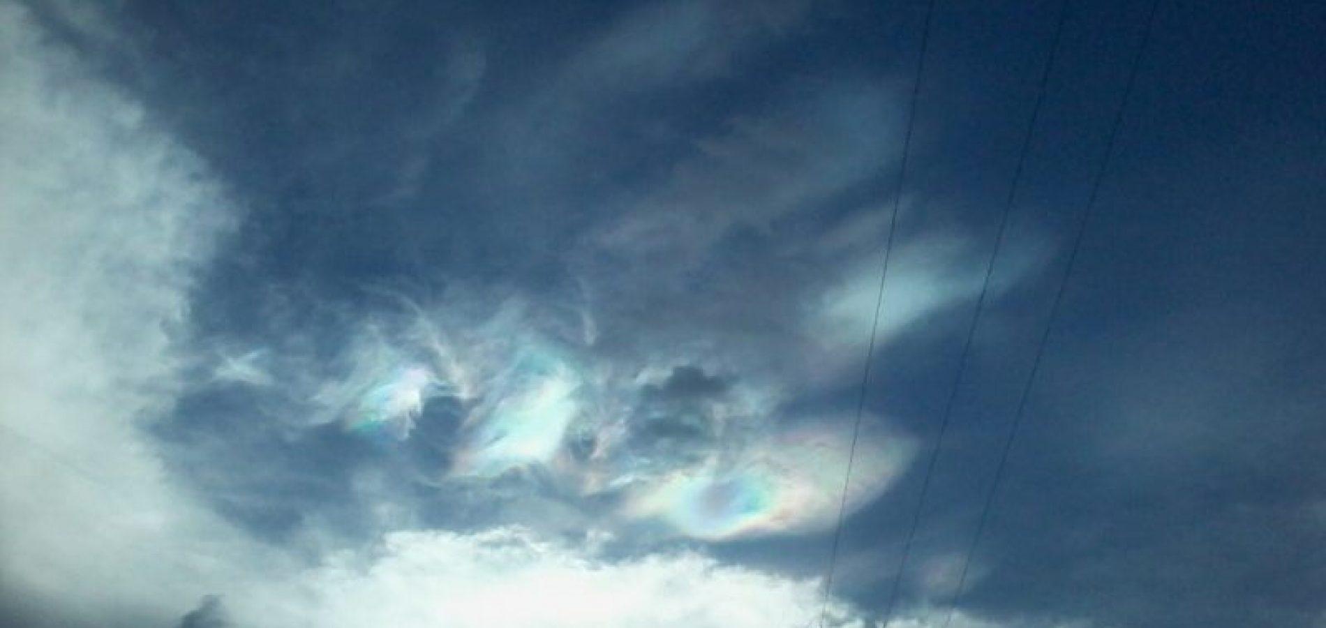 Fenômeno no céu de cidade do interior do Piauí intriga população; veja fotos!