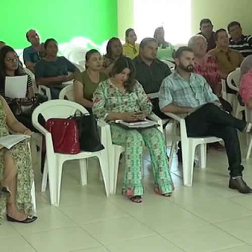 Prefeitos discutem pactuação da saúde em Paulistana