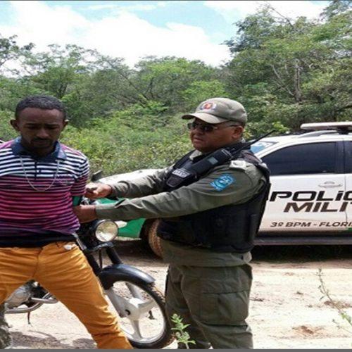 Homem é preso em flagrante com pedras de crack no Interior  do Piauí