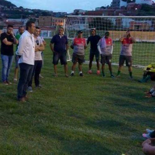 Diretoria da Sep apresenta o novo treinador