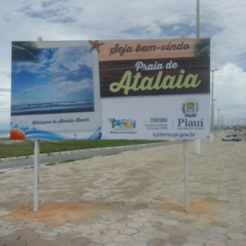 Turistas aprovam placas de sinalização no litoral do Piauí