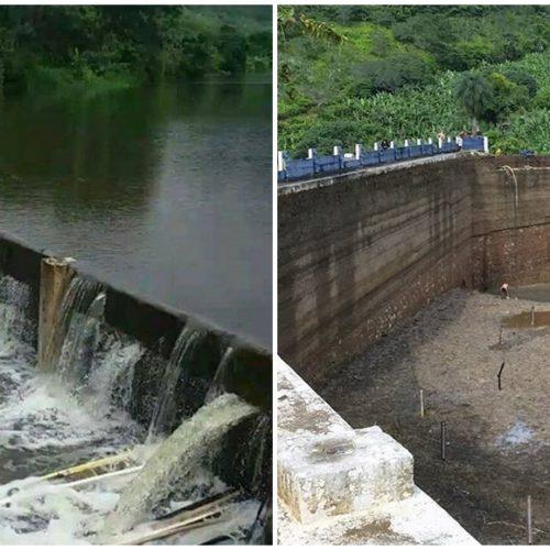 Barragem transborda e seca no dia seguinte no interior do Ceará