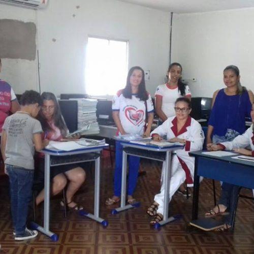 ALEGRETE | Secretaria de Saúde promove atualização das cadernetas de vacina nas escolas municipais