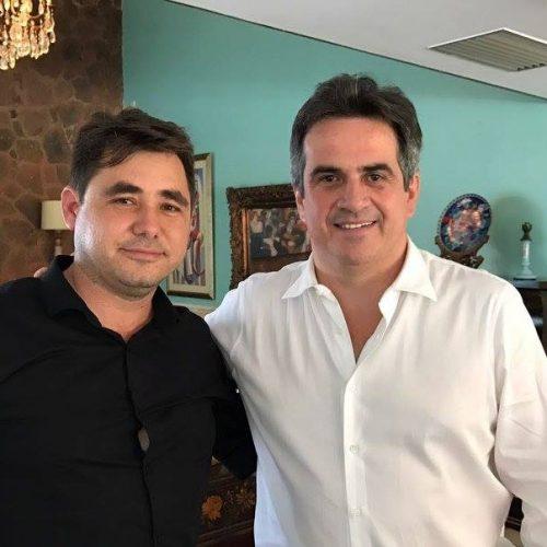 Prefeito Valdinar se reúne com o senador Ciro Nogueira e reivindica melhorias para Padre Marcos
