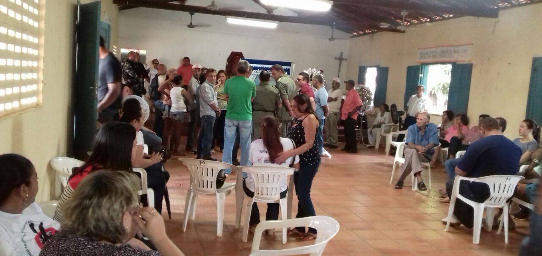 Corpo do major Mayron Soares é velado em Valença do Piauí