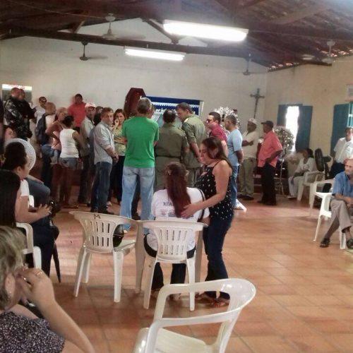 Corpo do major Mayron Soares é velado em Valença do Piauí