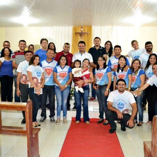 Comissão Diocesana da Pastoral Familiar realiza encontro de formação na Paróquia de  Patos do Piauí