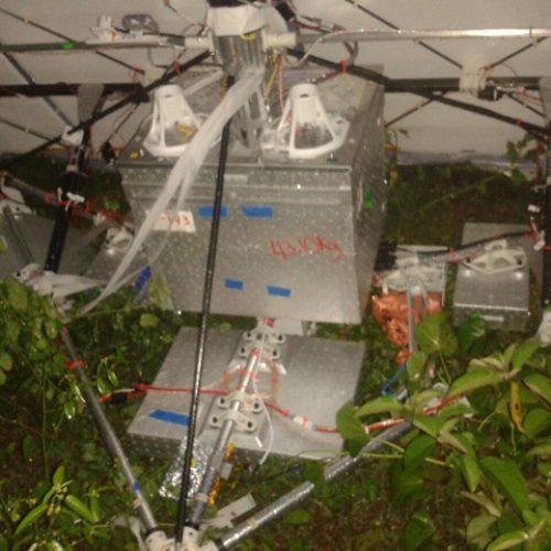 Satélite da empresa Google cai em povoado no interior do Piauí