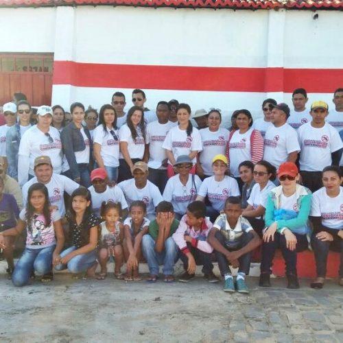 Prefeitura de Padre Marcos leva mutirão de combate à dengue ao povoado Riacho do Padre