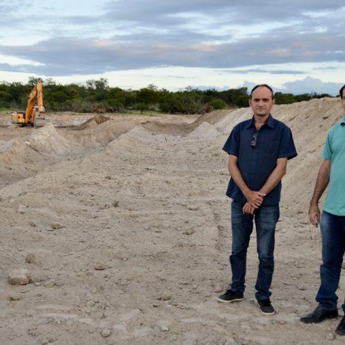 Construção de barragem vai beneficiar produtores rurais em Massapê do Piauí